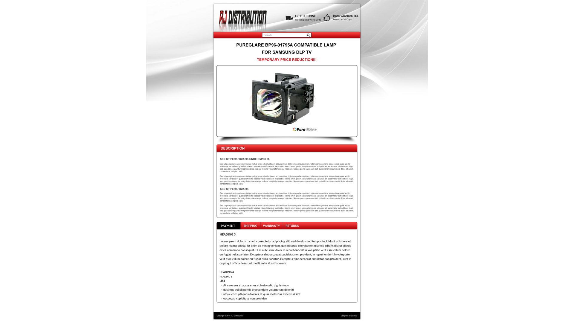 Großartig Kostenlose Ebay Vorlage Maker Bilder - Beispiel Business ...