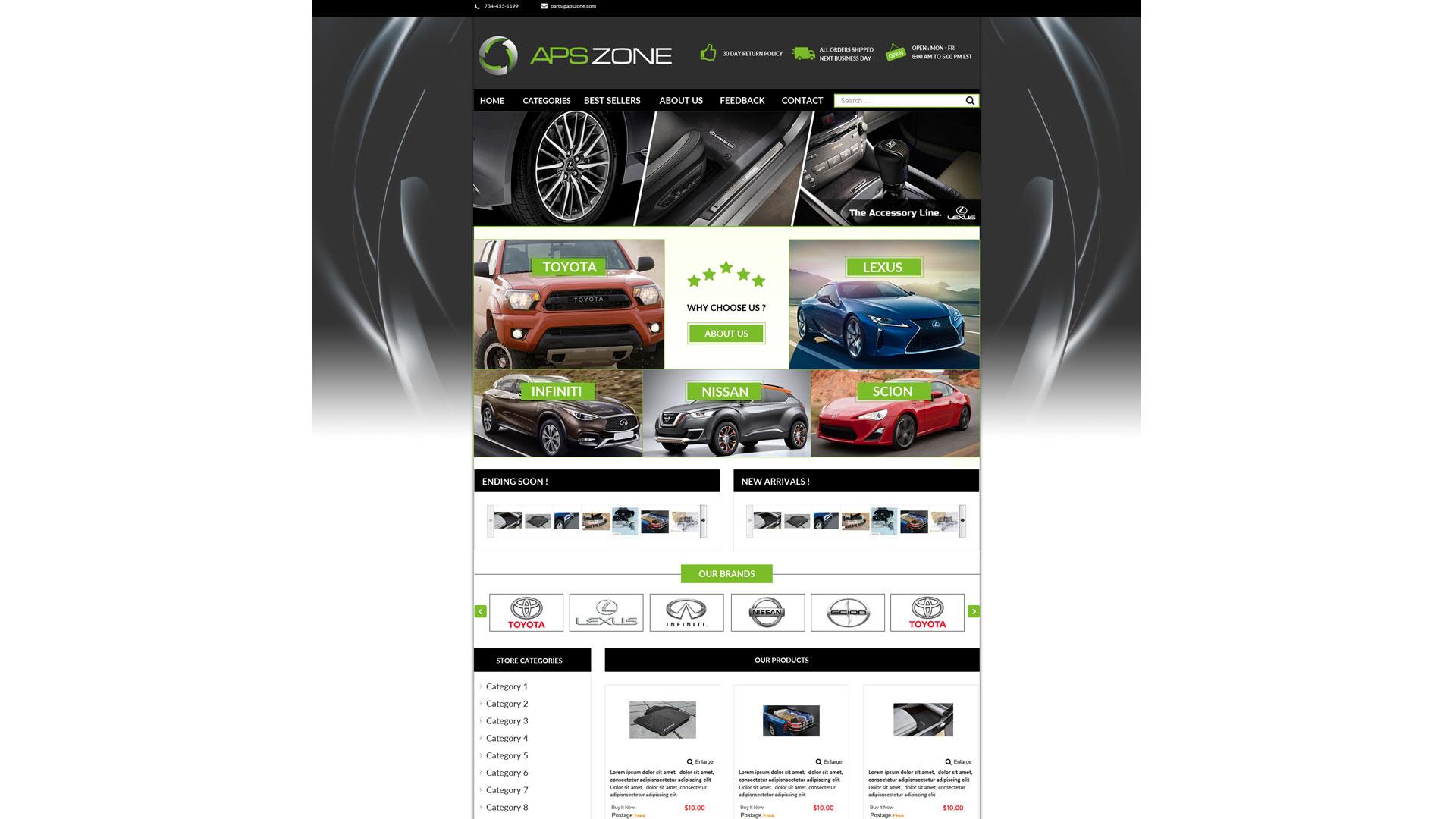 Apszone Template Ebay Store Zeinebay