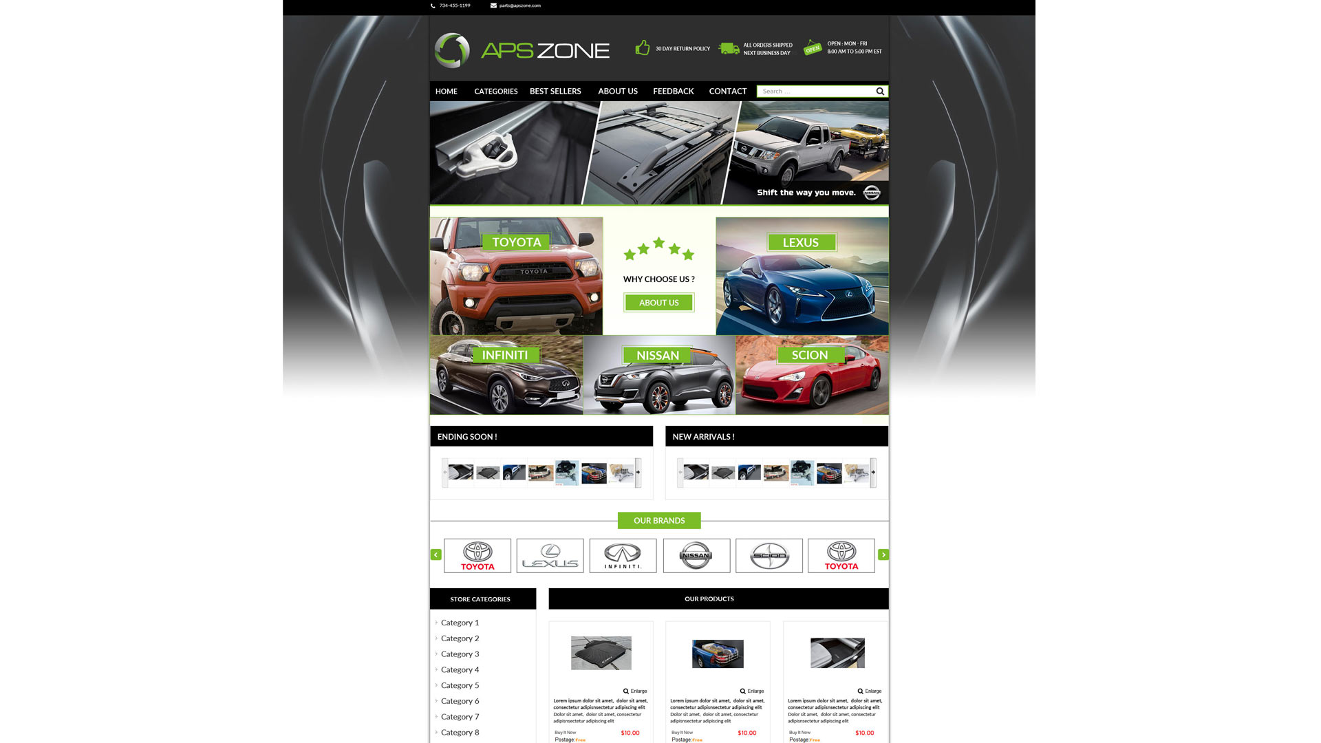 Apszone template ebay store zeinebay category templates stores ebay zeinebay pronofoot35fo Image collections