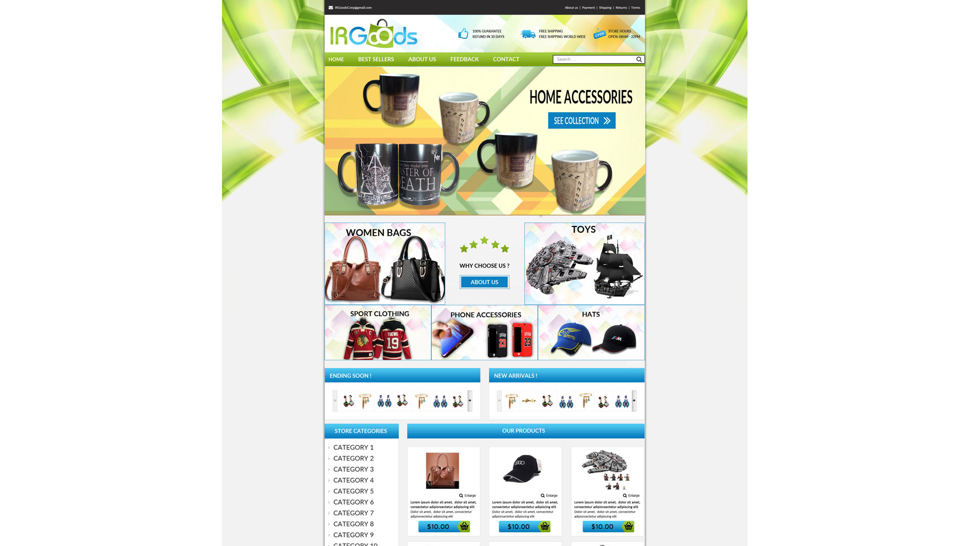 Nrngoods template ebay store zeinebay category templates stores ebay zeinebay pronofoot35fo Image collections