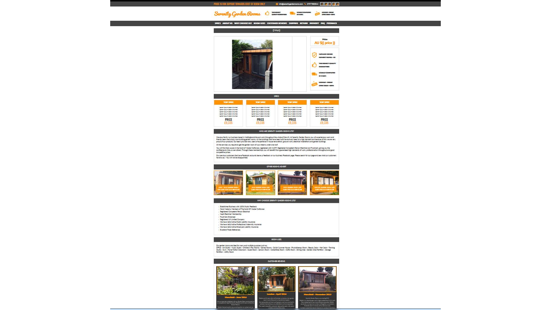 Serenitygardenrooms listing ebay template zeinebay for Ebay template design software